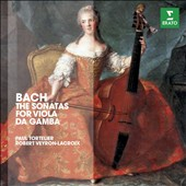 J.S. Bach: 3 Sonatas for Cello & Harpsichord, BWV 1027-1029 / Paul Tortelier, cello; Robert Veyron-Lacroix, harpsichord