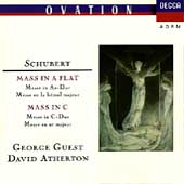 Schubert: Mass in A-flat, Mass in C / George Guest
