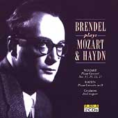 Brendel plays Mozart and Haydn - Piano Concertos