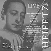 Heifetz - Never Before Released & Rare Live Recordings Vol 3
