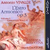Vivaldi: L'Estro Armonico Op 3 Vol 1 / Dantone, Montanari