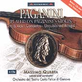 Paganini Played on Paganini's Violin / Massimo Quarta, et al