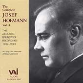 The Complete Josef Hofmann Vol 4 - Brunswick Recordings