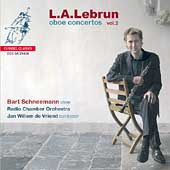 Lebrun: Oboe Concertos Vol 2 / Schneemann, de Vried, et al