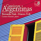 Canciones Argentinas / Fink, Piazzini, et al