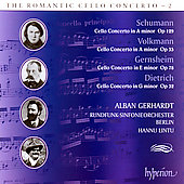 The Romantic Cello Concerto 2 / Gerhardt, Lintu, et al