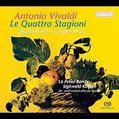 Vivaldi: Le quattro stagioni, etc / S. Kuijken, et al
