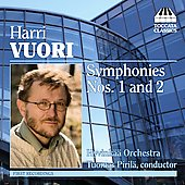Vuori: Symphonies no 1 and 2 / Piril&auml;, Hyvink&auml;&auml; Orchestra