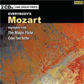 Mozart: Highlights from The Magic Flute, Cos&igrave; fan tutte