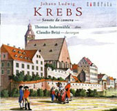 Krebs: Sonatas Da Camera / Thomas Indermühle, Cladio Brizi