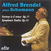 Schumann: Phantasie  in C minor Op 17, Symphonic Studies Op 13 / Alfred Brendel