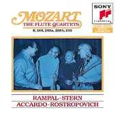 Mozart: The Flute Quartets / Rampal, Stern, Accardo et al
