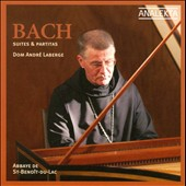 Bach: Suites & Partitas / Andr&eacute;, harpsichord