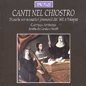 Canti nel chiostro / Candace Smith, Cappella Artemisia
