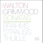 Sonatas: Brahms, Strauss, Thuille / James Walton, cello; Daniel Grimwood, piano