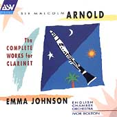 Arnold: Complete Works for Clarinet / Emma Johnson, et al