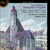 Sacred Music by Sebastian Knupfer / King / King's Consort