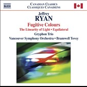 Jeffrey Ryan: Fugitive Colours / Tovey, Vancouver Symphony
