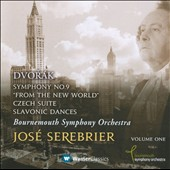 Dvor&aacute;k: Symphony No. 9; Czech Suite; Slavonic Dances / Serebrier