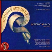 Antonio Vivaldi: Gloria; Stabat Mater; Dixit Dominus / Alessandra Gardini; Cristina Paolucci; Gloria Banditelli, Paolo Macedonia