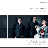 Leonid Sabaneev: Piano Trios / Then-Bergh, Yang, Schafer