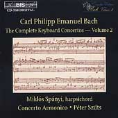 C.P.E. Bach: Complete Keyboard Concertos Vol 2 / Sp&#225;nyi