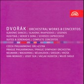 Dvor&#225;k: Orchestral Works & Concertos / Moravec, Suk, Sadlo, Hudecek  [8 CDs]