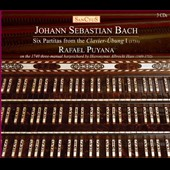 J.S. Bach: Six Partitas from the Clavier-Übung 1 (1731) / Rafael Puyana on the Hass 17th century three-manual harpsichord