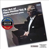 The Art of Hans Hotter, Vol. 2 / Hans Hotter, bass; Geoffrey Parsons, piano
