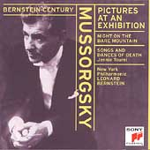 Bernstein Century - Mussorgsky: Pictures at an Exhibition