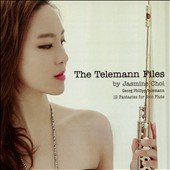 'The Telemann Files' - G. Ph. Telemann: 12 Fantasies for Solo Flute / Jasmine Choi, flute