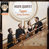 Michael Tippett (1905-1998): String Quartets Nos. 1 - 5 / Heath Quartet