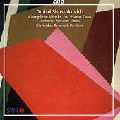 Shostakovich: Complete Works for Piano Duo /Genova, Dimitrov