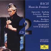 Bach: Mass in B minor / Karajan, Janowitz, Ludwig, et al