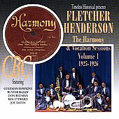 Fletcher Henderson: The Harmony & Vocalion Sessions, Vol. 1: 1925-1926