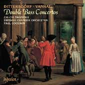 Dittersdorf, Vanhal: Double Bass Concertos / Nwanoku, et al