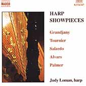 Harp Showpieces - Grandjnay, Hasselmans, etc  / Judy Loman