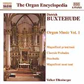 Buxtehude: Organ Music, Vol 1 / Volker Ellenberger