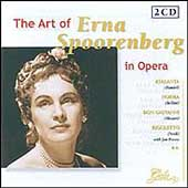 The Art of Erna Spoorenberg in Opera - Handel, et al