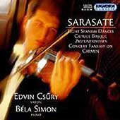 Sarasate: Eight Spanish Dances, etc / Csüry, Simon