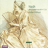 Haydn: String Quartets Op 64 no 1, 3, 6 / Quatuor Mosaïques