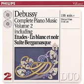 Debussy: Complete Piano Music Vol 2 / Werner Haas, No&#235;l Lee