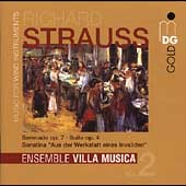 R. Strauss: Music for Wind Instruments Vol 2 / Villa Musica