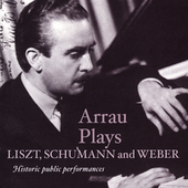 Liszt, Schumann, Weber: Piano Concertos / Arrau, et al