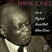 Hank Jones (Piano): Live at Maybeck Recital Hall, Vol. 16