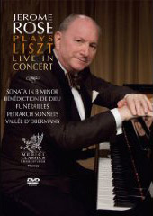 Jerome Rose Live In Concert / Liszt [DVD]