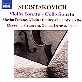 Shostakovich: Violin Sonata, Cello Sonata / Yablonsky, et al