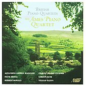 British Piano Quartets - Bridge, et al / Ames Piano Quartet