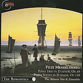 The Romantics Vol 7 - Mendelssohn / Atlantis Ensemble