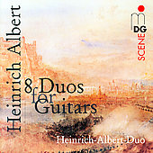 SCENE Albert: Eight Guitar Duos / Heinrich-Albert Duo